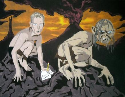 Doug Jones Meets Gollum