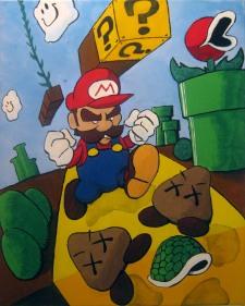 Super Mario Bros. World 1-1.