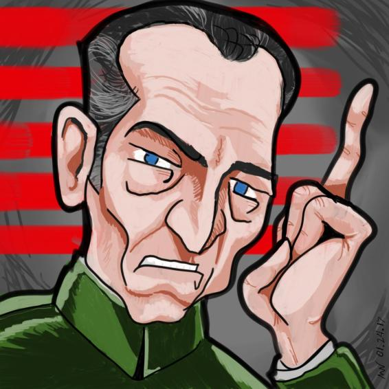 Star Wars fan art Tarkin
