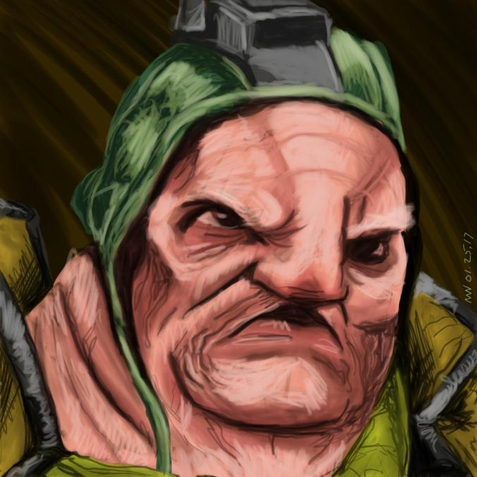 Star Wars fan art Unkar Plutt