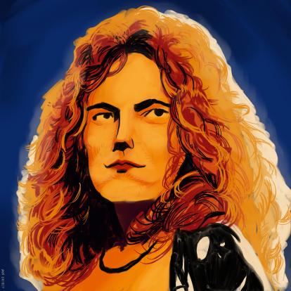 Music Robert Plant Led Zeppelin art