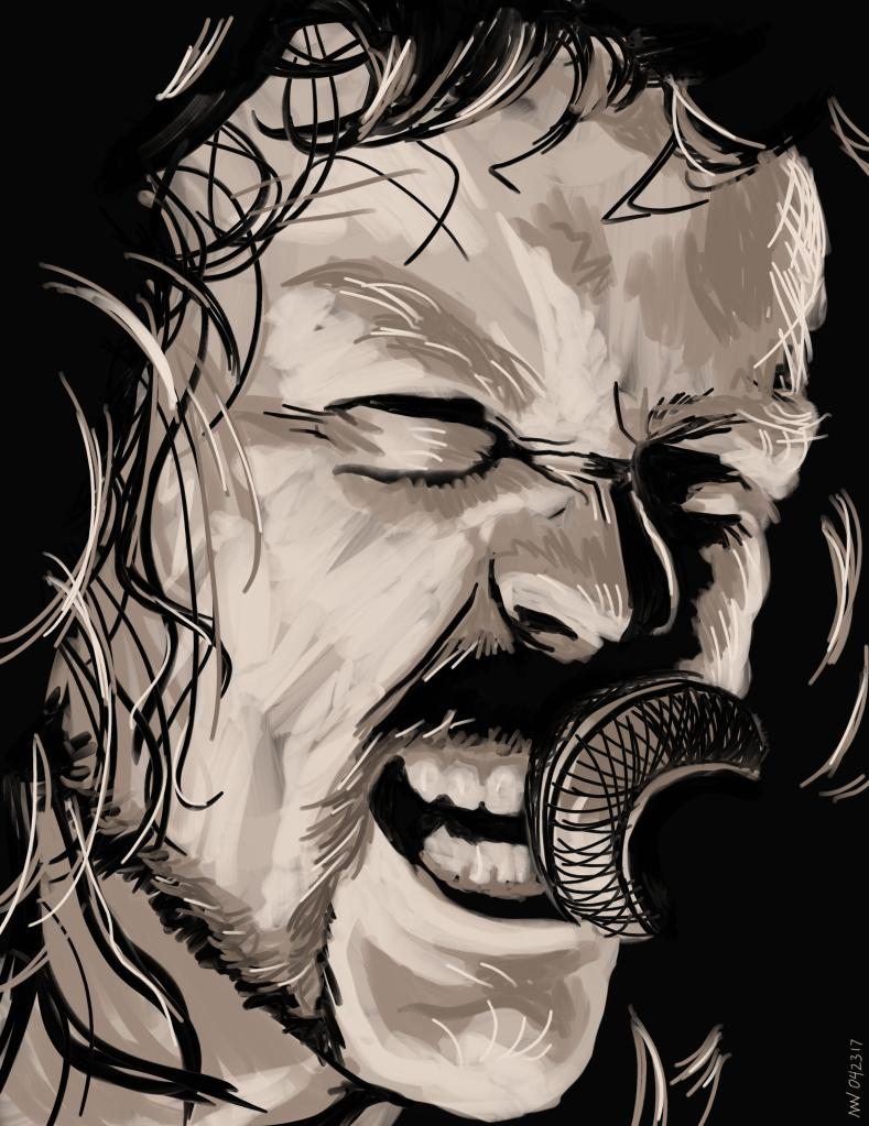 James Hetfield Metallica Music Art