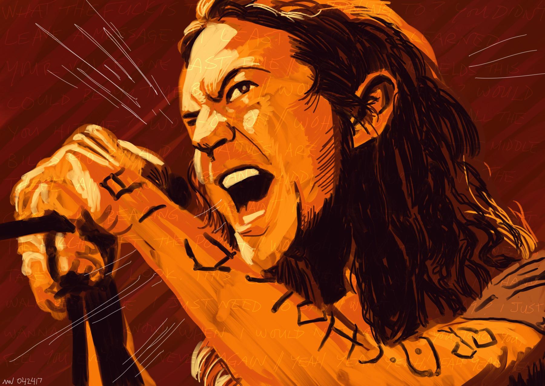 Eddie Vedder Pearl Jam Music Art