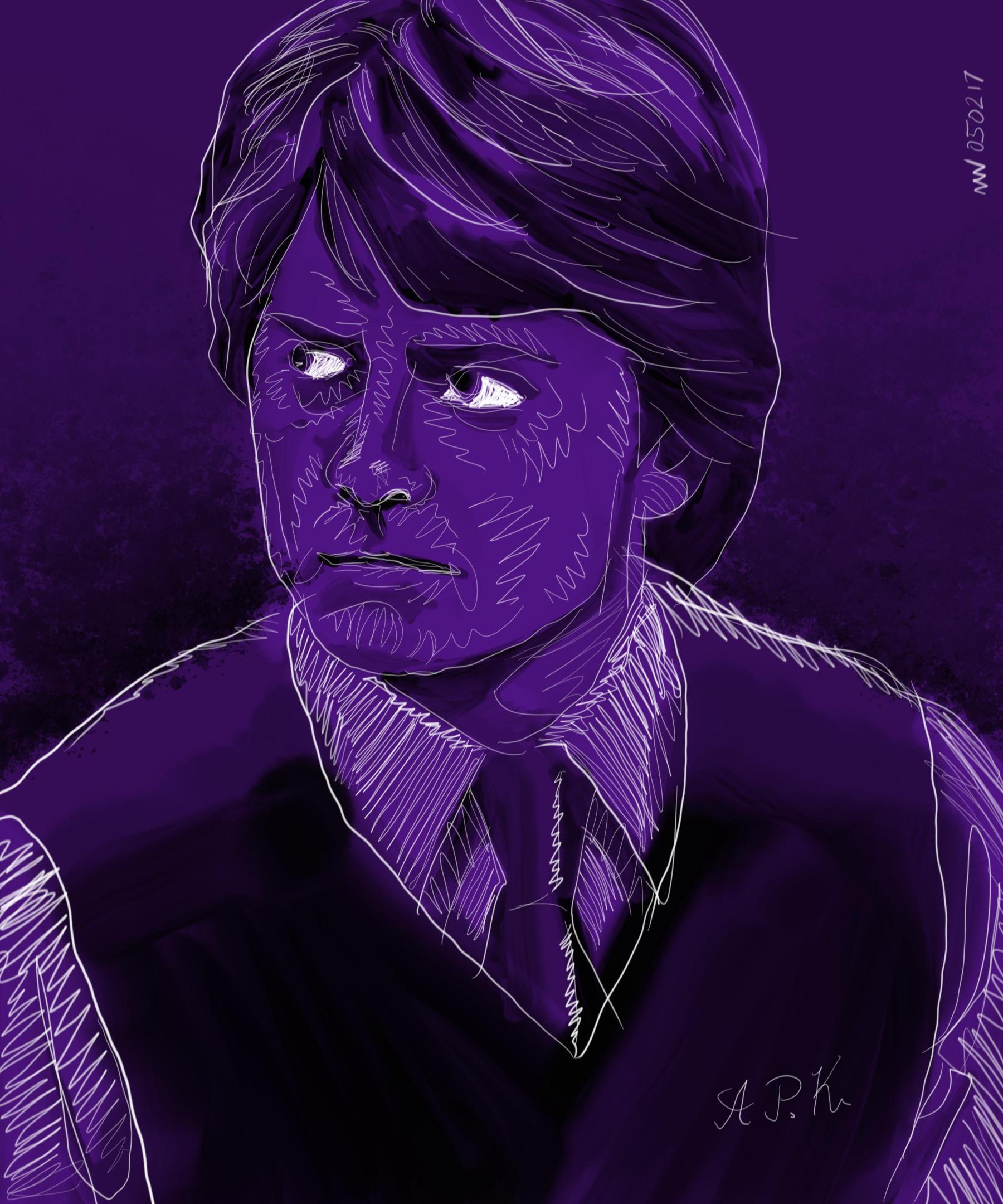 Alex p Keaton Michael J Fox Family Ties tv art