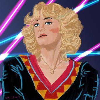 Beverly Goldberg Wendi McClendon Covey art portrait