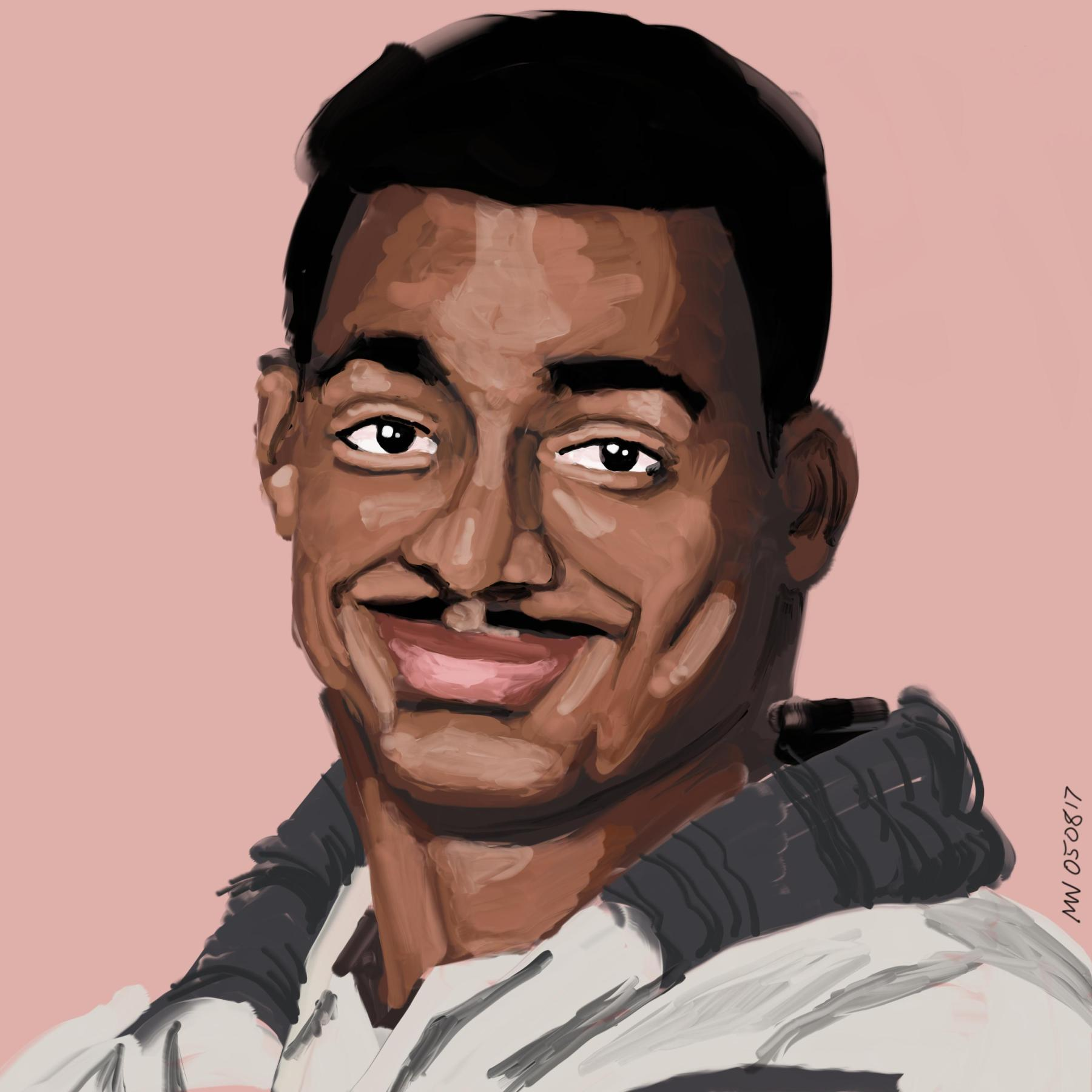 Carlton Banks Portrait