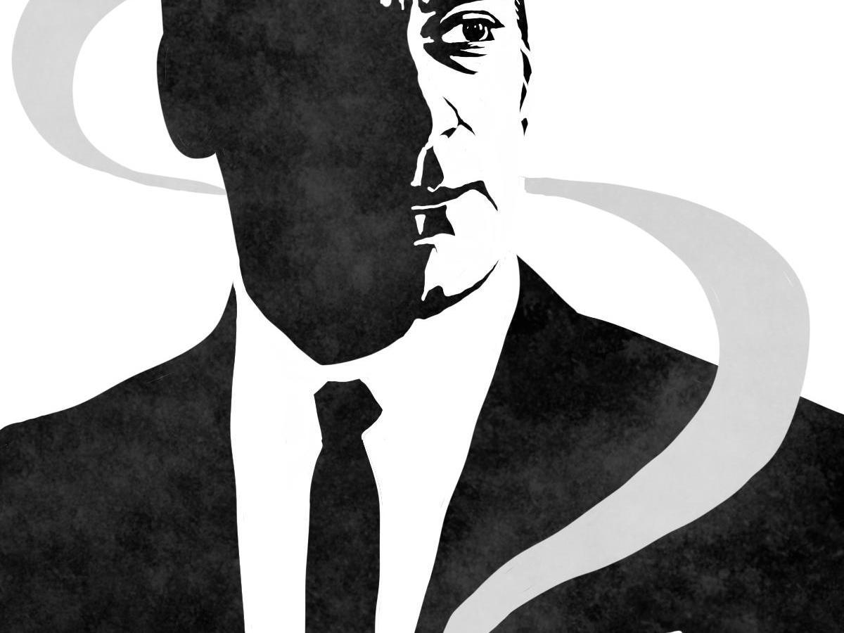 Mad Men Don Draper portrait art