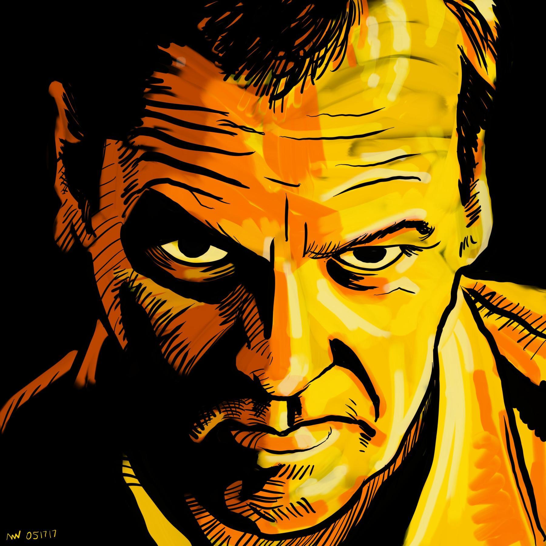 Jack Bauer 24 Portrait Art