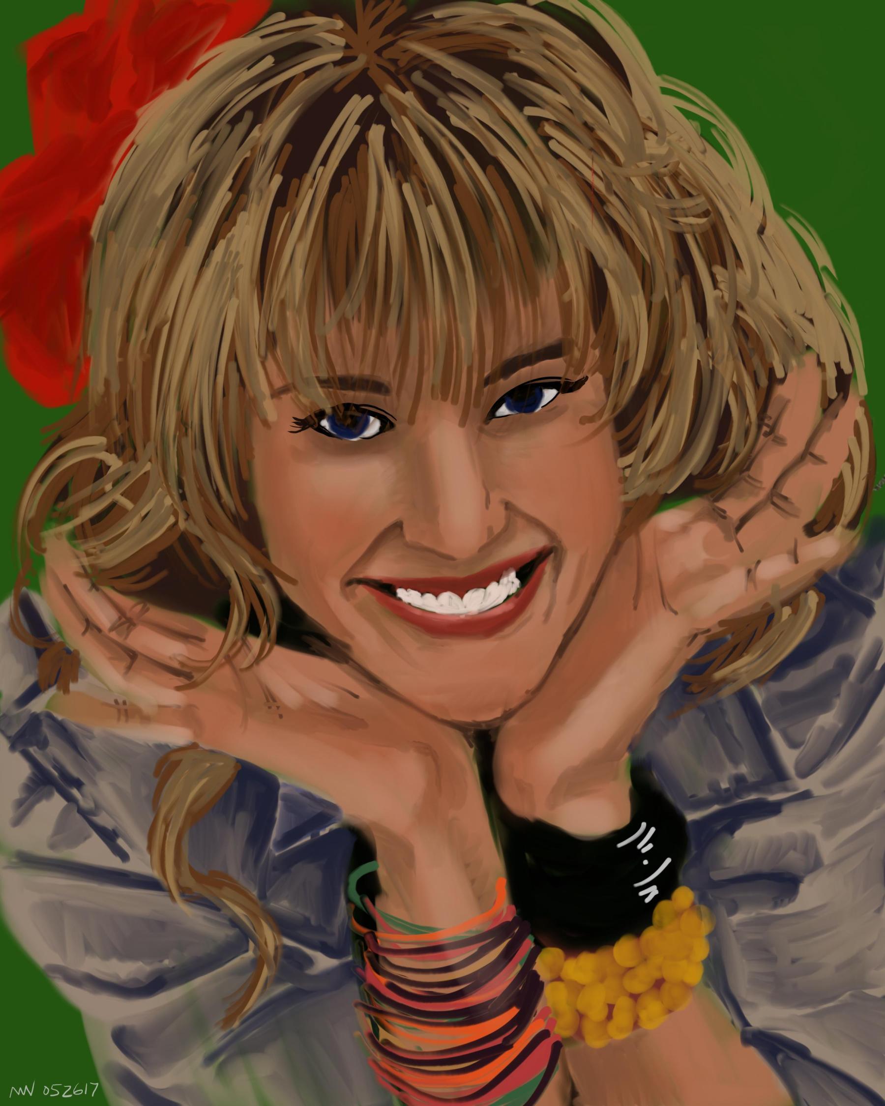 Robin Sparkles HIMYM Portrait